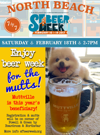 Beer week gives back to the Mutts!