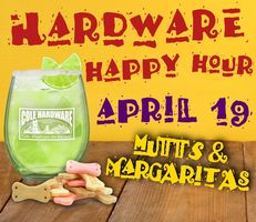Mutts and Margaritas at Cole Hardware