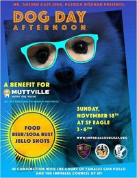 Dog Day Afternoon - a Benefit for Muttville
