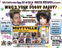 Who's Your Doggy Daddy - A Father's Day Fundraiser to Benefit Muttville