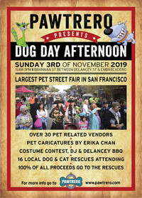 Pawtrero's 13th Annual Dog Day Afternoon